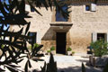 Facade of the bed and breakfast in Provence